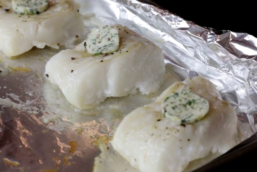 Roasted Fish Fillets