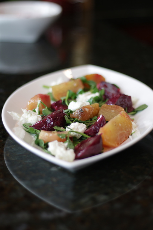 Roasted Beet Salad with Sherry Wine Vinaigrette
