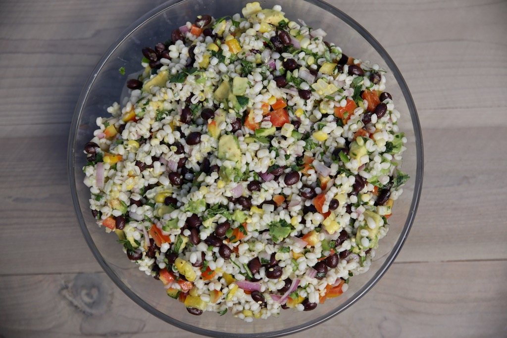 Black Bean and Barley Salad