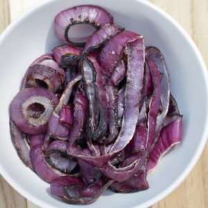 grilled onions, Red Onion Rings