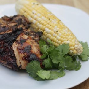 Grilled Bone-in Chicken Breast